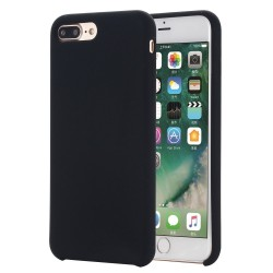 iPhone 8 Plus / 7 Plus Coque en silicone liquide Flexible Pure Series pour - noir
