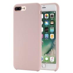 iPhone 8 Plus / 7 Plus Coque en silicone liquide Flexible Pure Series pour - Rose