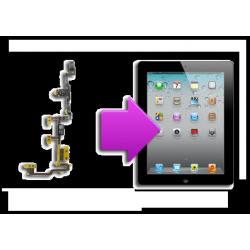 Changement nappe bouton power+volume ipad 2