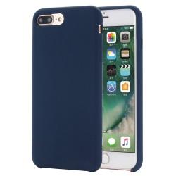 iPhone 8 Plus / 7 Plus Coque en silicone liquide Flexible Pure Series - Bleu