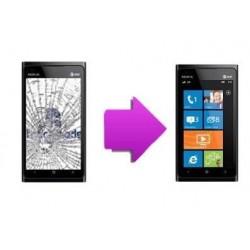 réparation bloc écran tactile + LCD Nokia Lumia 900