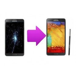 Reparation écran lcd et vitre tactile samsung galaxy note 3