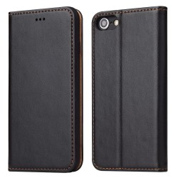 iPhone 7 / 8 Wallet Leather Case - Black