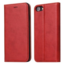 iPhone 7 / 8 Wallet Leather Case - Red