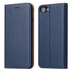 iPhone 7 / 8 Wallet Leather Case - Blue
