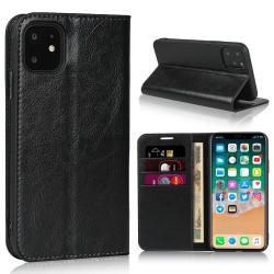 iPhone 11 Blue Moon Wallet Leather Case - Black