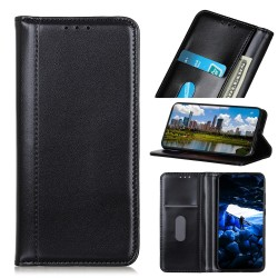 Samsung Galaxy S10 Leather Wallet Case - Black