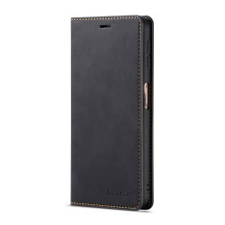 Huawei P30 Pro Leather Wallet Case - Black