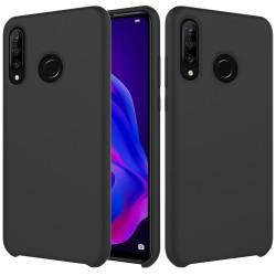Huawei P30 Lite Soft Liquid Silicone Shell Case - Black