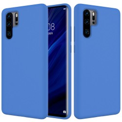 Huawei P30 Pro Soft Liquid Silicone Protective Case - Blue