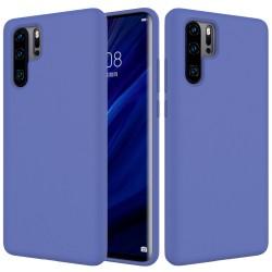 Huawei P30 Pro Soft Liquid Silicone Protective Case - Purple