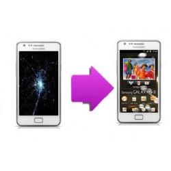 changement vitre/LCD Samsung galaxy S2