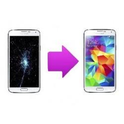 changement vitre/LCD samsung galaxy s5