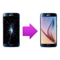 changement vitre/LCD samsung galaxy s6 Edge +