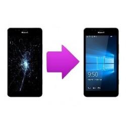 Réparation bloc écran tactile + LCD Microsoft Lumia 950 / 950 XL