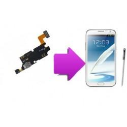 Remplacement connecteur de charge samsung galaxy note 2