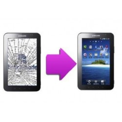Remplacement vitre samsung galaxy tab 7'' p1000